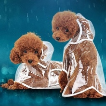 Get more info on the Waterproof Dog Raincoat with Hood Transparent Pet Dog Puppy Rain Coat Cloak Costumes Clothes for Dogs Pet Supplies