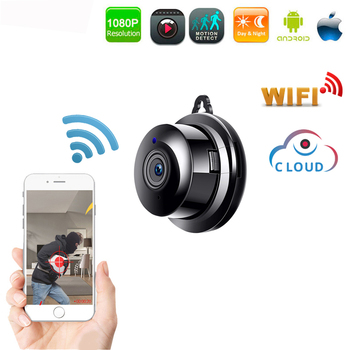 HD 1080P WIFI Mini Camera Wireless 2.0MP IP Camera Cloud Storage Infrared Night Vision Smart Home Security Baby Monitor