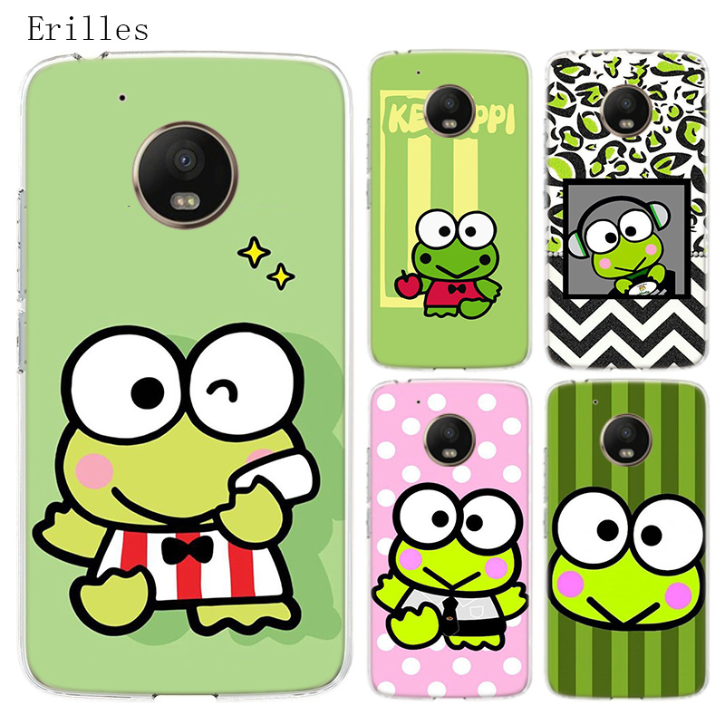 Cute Cartoon Keroppis Silicone Soft Case For Motorola Moto G8 G7 Power G6 G5 G5S E4 E5 Plus G4 Play Cover Coque