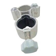 Универсальный зажим для регулировки на открытом воздухе держатель Подставка для зонта прочный рыболовный стул инструменты из алюминиевого сплава крепление для отдыха