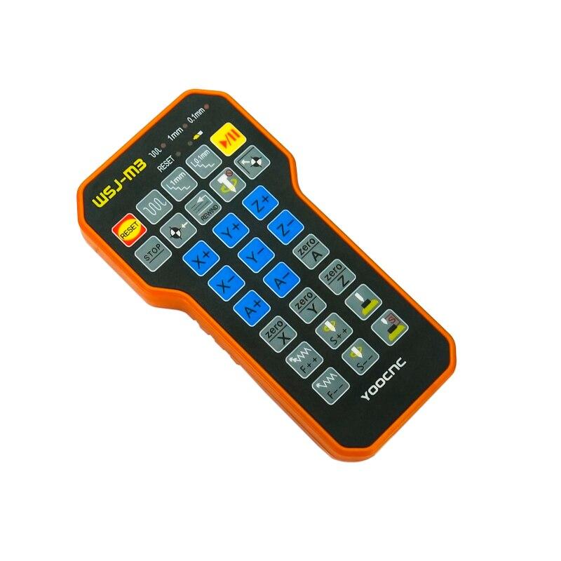 Peças de gravação cnc controle remoto mach3 mpg usb roda mão sem fio para máquina cnc - 5