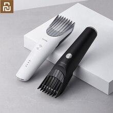 Youpin Showsee مقص الشعر الكهربائية اللاسلكي قادين الشعر منخفضة الضوضاء الكبار آلة قطع الشعر للرجال حلاقة الشعر الحلاقة