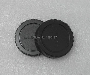 Image 3 - 10 pcs/Len Caps Lenses Accessories For Panasonic Lumix DMC GF3 GF2 GF1 G10 G3 G2 G1 GH2 Rear Lens + Body Cap Cover