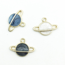 Planet Pendant Charms Earrings Necklace Jewelry-Accessories-Supplies Craft-Making