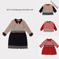 Kids Sweaters 2019 CBC Brand New Autumn Winter Boy Girls Fashion Knit Pullover Baby Child Cotton Tops Outwear Clothes