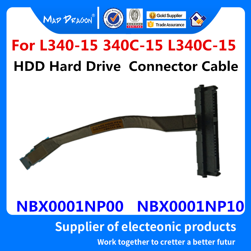 NEW Sata HDD Cable Connector Adapter For Lenovo Ideapad L340-15IRH L340-15API L340-15IWL L340-17IRH NBX0001NP00 NBX0001NP10