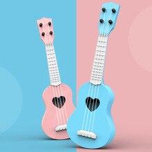 Детская гитара Ukelele, музыкальная игрушка, обучающая игрушка для мальчиков и девочек, рождественский подарок для детей