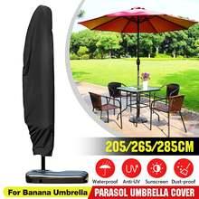 Housse de Protection imperméable pour Parasol, pour Patio extérieur, contre la pluie, pare-soleil, 190-280cm