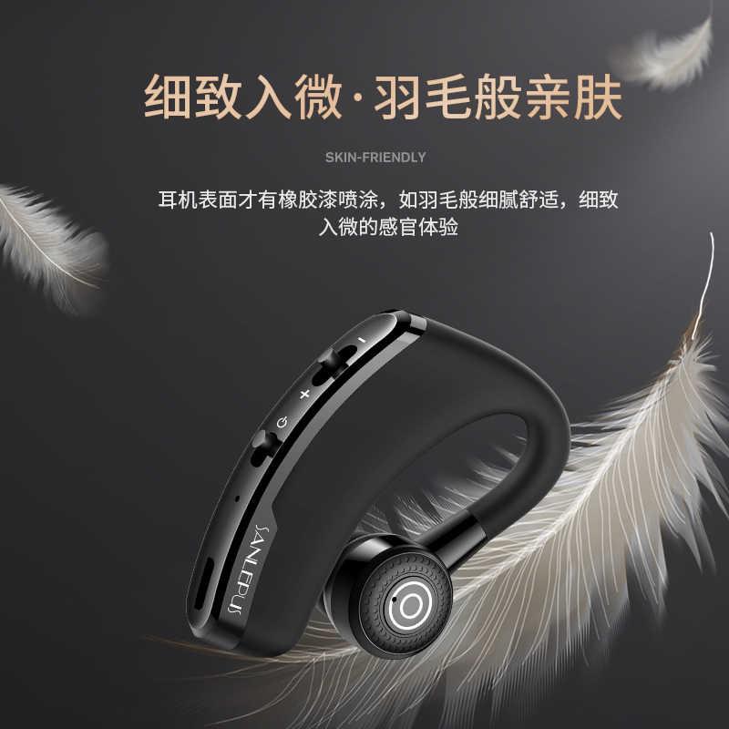 SANLEPUS słuchawki Bluetooth słuchawki bezprzewodowe słuchawki bezobsługowy zestaw słuchawkowy słuchawki douszne z mikrofonem HD dla telefonu iPhone Samsung xiaomi