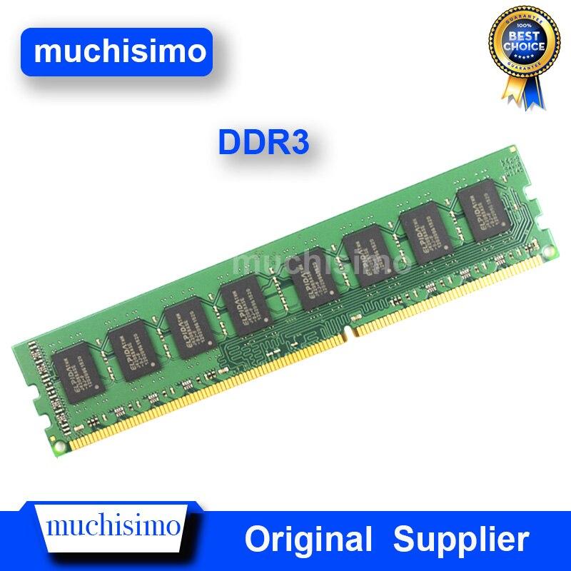 Memória RAM DDR3 4GB GB 2 8GB 1066 1333 1600MHz PC Computador Desktop Memoria Módulo 240pin 1.5V Novo DIMM Totalmente compatível com Sistema