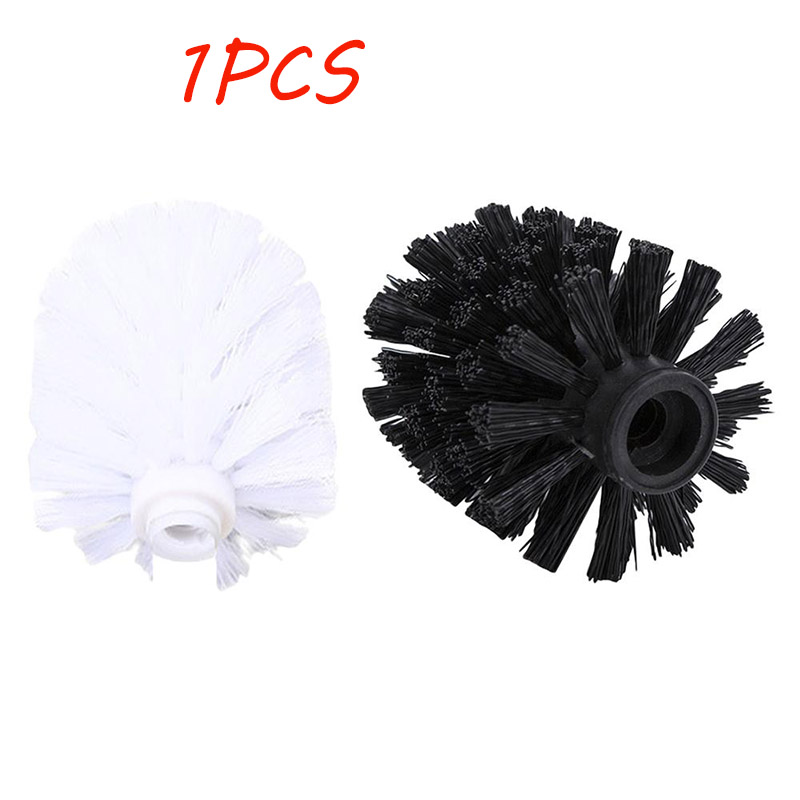WNP Universal Replacement Toilet Brush Head Holder White Black Clean Spare Tools Toilet Borstel  Bathroom Accessories