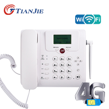 Wifi Router 2G/3G/4G LTE GSM Cordless Fixed Voice Call Desk Telephone Landline Phone Wireless Modem 4g Wifi Sim Card Booster