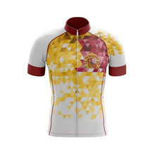 цена на Spain Team Bike Maillot Ciclismo Men Summer Short sleeve suit mtb Jersey Sets Ropa bicycle Cycling Clothes Bicycle outdoor suit