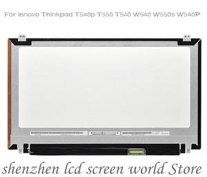 FRU : 04X4064 04X5541 For lenovo Thinkpad T540p T550 T540 W540 W550s W540P VVX16T028J00 VVX16T020G00 3K 2880*1620 lcd screen le(China)