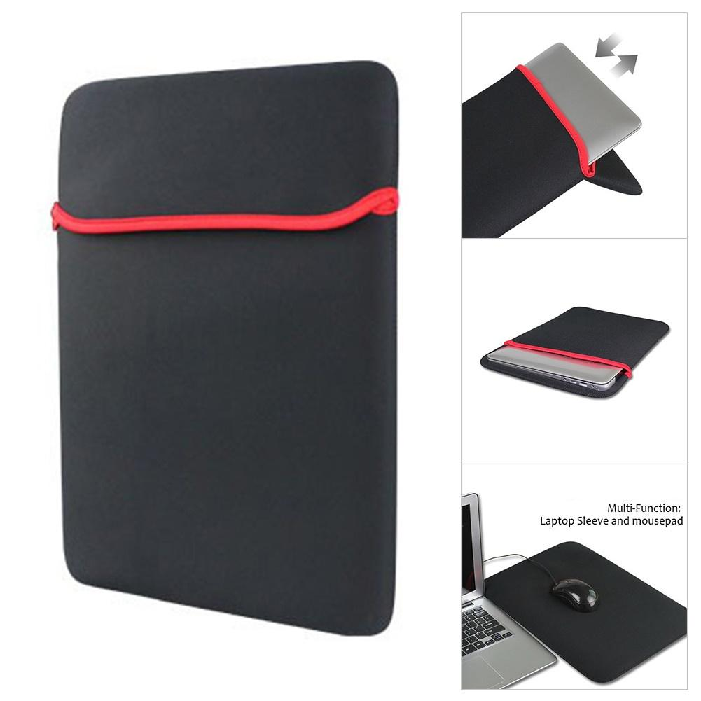 7 to 17inch Waterproof <font><b>Laptop</b></font> Notebook Tablet <font><b>Sleeve</b></font> Bag Carry Case Cover Pouch <font><b>Sleeve</b></font> Case For <font><b>Laptop</b></font> 11 <font><b>13</b></font> 14 15 17 <font><b>inch</b></font> image
