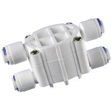 """1/"""" OD пробки 4-ходовой клапан автоматическое отключение Давление регулятор для аквариумной воды очиститель машина с обратным осмосом детали фильтра для воды"""