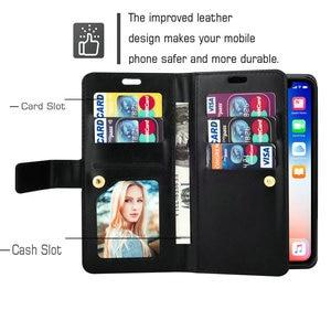 Image 3 - Cao Cấp Dây Kéo Dành Cho Samsung Galaxy Samsung Galaxy A30 A50 A70 A10 A20 A40 A50S A30S A20E Ví Bao Da M10 M20 M40 m21S Cấp Kiểu Bao Da
