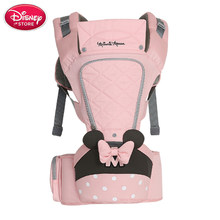 Disney Baby Carrier Hipseat Breathable Front Facing ทารกสบายกระเป๋าเป้สะพายหลังกระ(China)