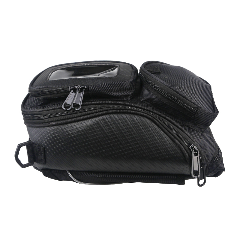 Multifunctional Magnetic Motorcycle Fuel Bag Mobile Phone Navigation Tank Bag Package With Fixed Straps Motorbike Oil Bag