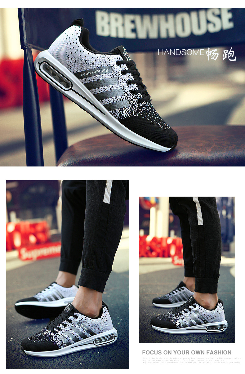 H4b3f2950c3c942ee8a11ec773fb9d51eU New Autumn Fashion Men Flyweather Comfortables Breathable Non-leather Casual Lightweight Plus Size 47 Jogging Shoes men 39S