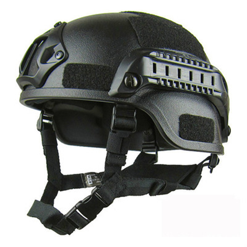 High-quality Lightweight MICH 2000 Tactical Helmet Riding Helmet Military Fan Field CS Equipment