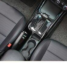 Lsrtw2017 Carbon Fiber Abs Car Gear Brake Panel Automatic Start Vent Trims for Kia K3 Kia Cerato 2012-2018 Interior Accessories lsrtw2017 abs car gear panel chrome trims for kia rio 2017 2018 2019