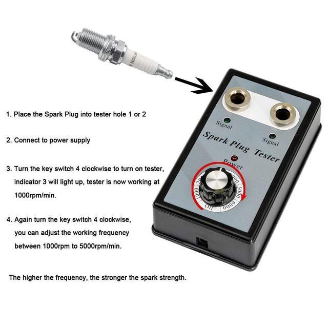 Spark Plug Tester Pen Ignition System Coil Engine Auto Can Bus Spark Plug Analyzer Car Auto Checker Detector Diagnostic Tool