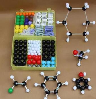 Chemii organicznej atom molekularnej zestaw modeli do składania zestaw dla nauczycieli szkół średnich i studentów tanie i dobre opinie Chemicznego 1004