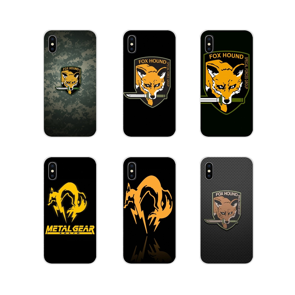 For Samsung A10 A30 A40 A50 A60 A70 Galaxy S2 Note 2 3 Grand Core Prime Metal Gear Solid Fox Hound Accessories Phone Cases Cover