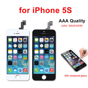 Image 4 - AAA kalite LCD ekran iPhone 6 6 artı 5 5S 5C 5 LCD ekran dokunmatik ekran Digitizer meclisi Pantalla siyah/beyaz Ecran