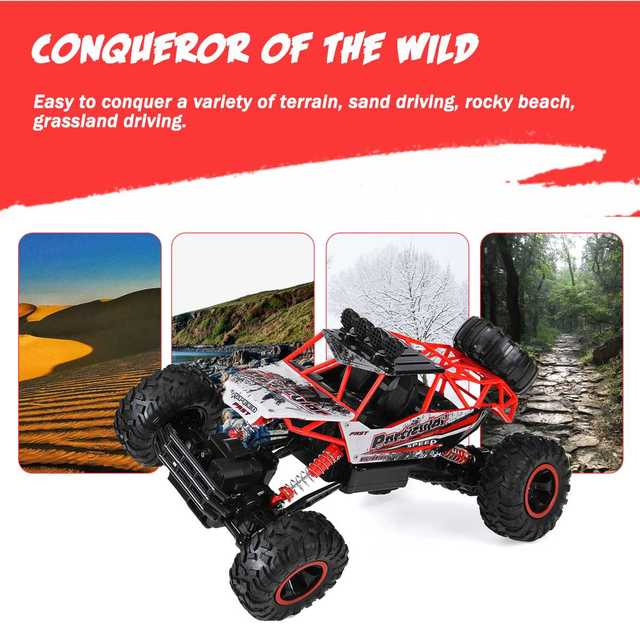 1:12 4WD RC Car Updated Version 2.4G Radio Control RC Car Toys remote control car Trucks Off-Road Trucks boys Toys for Children 5