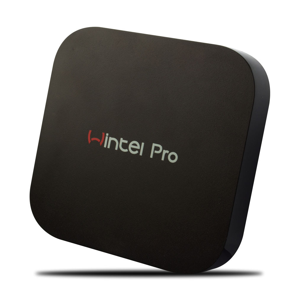 Wintel Pro TV Box Intel Z8300 Quad Core Mini PC 2GB 32GB Bluetooth 4.0 For Windows 10 TV Box W8 PRO