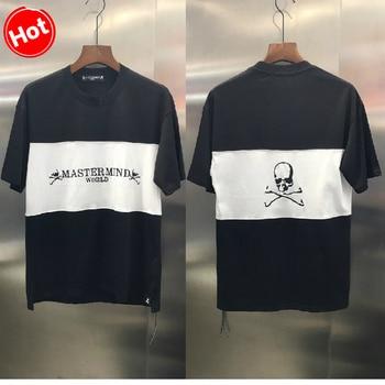 New Japan Mastermind MMJ T Shirt Men Women Stitching Embroidery T-Shirt Harajuku Streetwear Tshirt