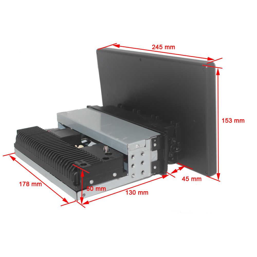 HÄNGEN XIAN Drehbare 1 din 2G 32G Auto radio für Universal auto dvd player GPS navigation bluetooth auto zubehör 4G internet