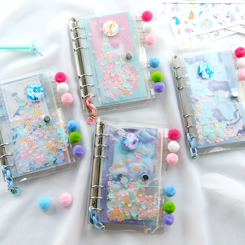 Best Promo 0051 Pvc A6 Spiral Ring Binder Notebooks Journal