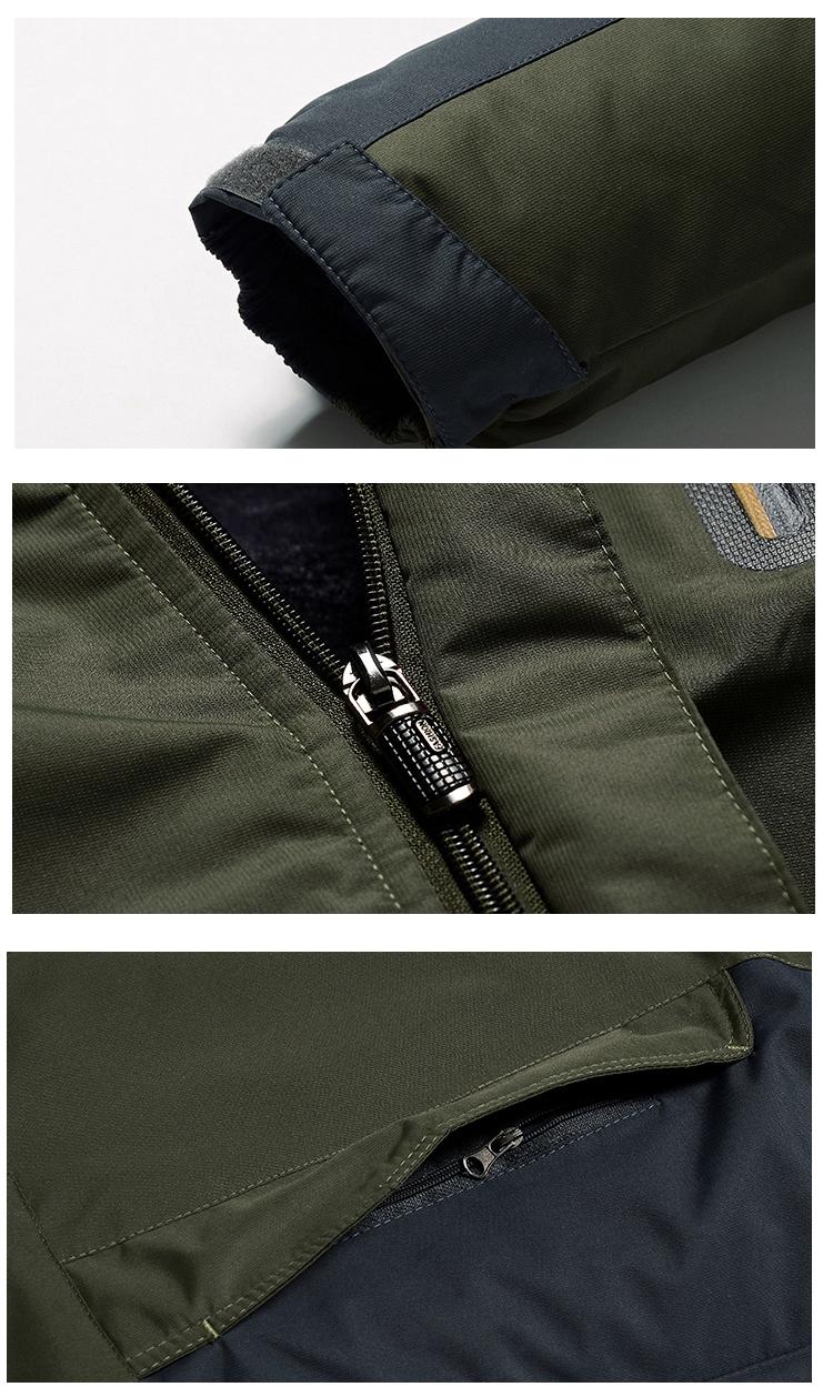 Winter Fleece Military Hiking Jackets Coat (15)