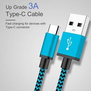 Image 2 - タイプ C USB ケーブル 3.0A 高速充電タイプ C usb 充電器コード S9 S8 プラス Huawei 社の名誉 10 9 lite のタブレット電話タイプ C