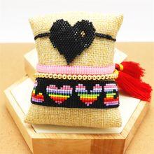 Браслет zhongvi Миюки ювелирные изделия браслеты с кисточками