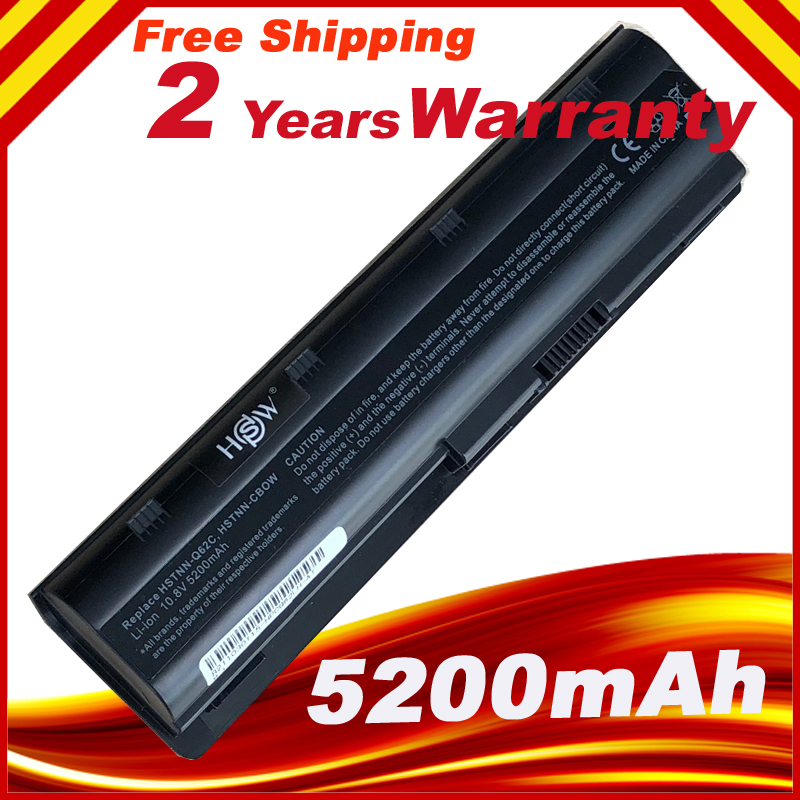 Аккумулятор для ноутбука HP Pavilion G4 G7 G6 HSW CQ42 CQ32 G42 CQ43 G32 DV6 DM4 430 bateria 593553- 001 MU06