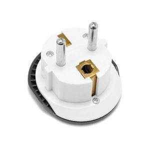 Image 5 - EU Stecker Adapter Universal 16A EU Konverter 2 Runde Pin Sockel AU UK CN UNS Zu EU Steckdose AC 250V Reise Adapter Hohe Qualität