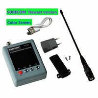Contador de frecuencia portátil y analógico, probador de señal Digital de radio móvil suracom SF103 DMR, TCXO, 2MHz -2800MHz, nueva versión