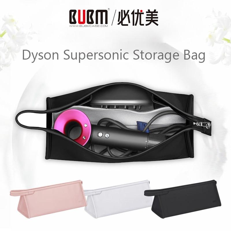 Caso supersônico do secador de cabelo de bubm dyson, saco de armazenamento dustproof portátil organizador caso do presente do curso para o secador de cabelo de dyson