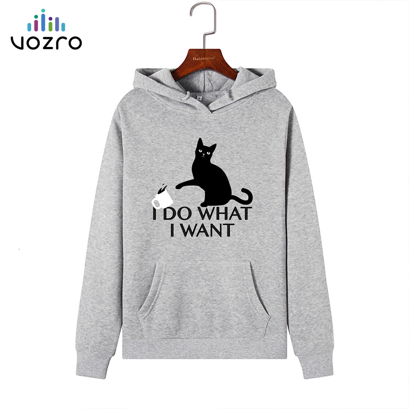 VOZRO Suit-dress Catch Down Even Hat Loose Coat Woman Sweatshirt Hoodies Sudadera Mujer Clothes Blackpink Manteau Femme Hiver
