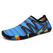 Лето босиком обувь женщина мужчины вода обувь пара плавание носки обувь нескользящие вода обувь для мужчин унисекс пляж тапочки 35-46