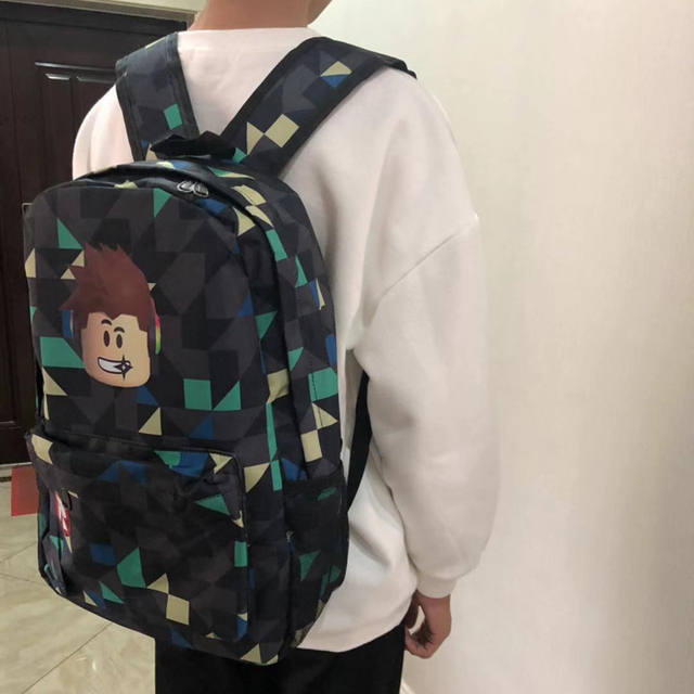 ROBLOX Backpack For Teenagers Kids Boys Children Student School Bags Unisex Laptop backpacks Travel Shoulder Bag 5