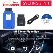 SVCI ING OBD2 diagnostic tool Covers all for Infiniti forNis