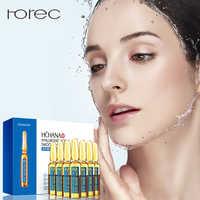 ROREC acide hyaluronique Ampoule visage sérum rétrécissement Pores Anti-Ance Nicotinamide blanchiment hydratant Anti-âge rides soins de la peau