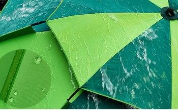 1.8-2m 360° Outdoor Beach Camping Fishing Umbrella Fold Sun Protection Anti UV Sunshade Umbrella Waterproof Awning Rain Umbrella 4