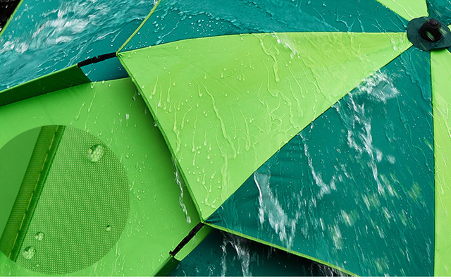 1.8-2m 360° Outdoor Beach Camping Fishing Umbrella Fold Sun Protection Anti UV Sunshade Umbrella Waterproof Awning Rain Umbrella 4