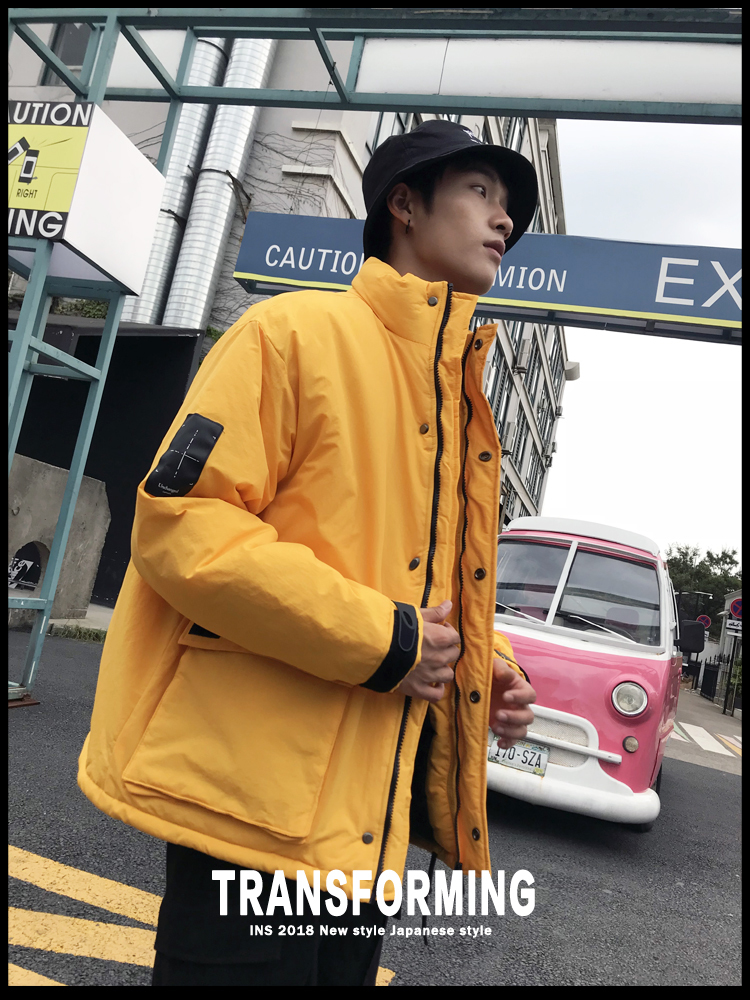 Men's Quality Student Winter Clothes Jacket Men Parka Thick Warm Outwear Korean Youth Streetwear Hip Hop Japan Style Harajuku 14